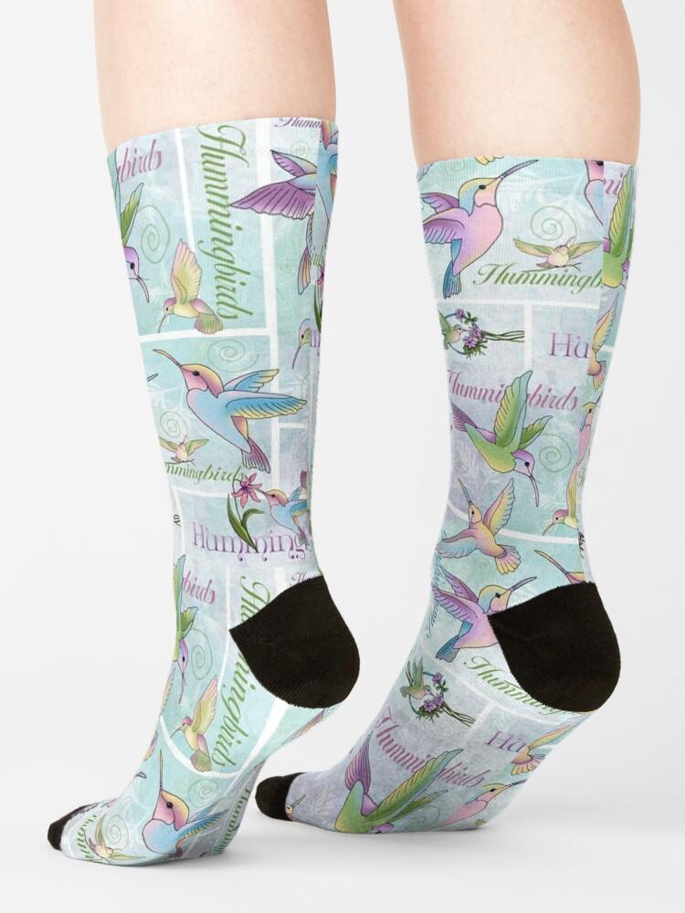 Alternate view of Hummingbird Flutterings Socks