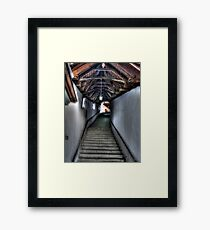 Stairs to Where? Framed Print
