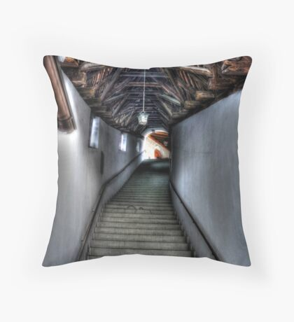 Stairs to Where? Throw Pillow
