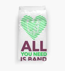 Marching Band - All You Need Is Band Duvet Cover