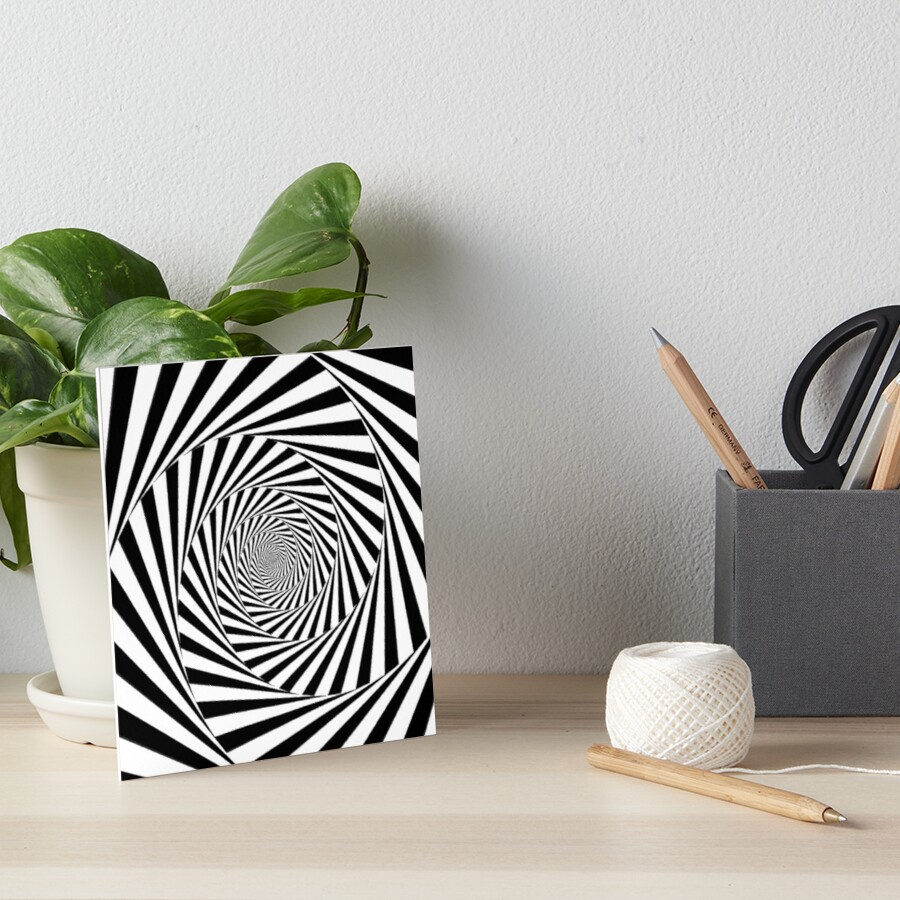 🍄 Optical Illusion, gbra,6x6,900x900