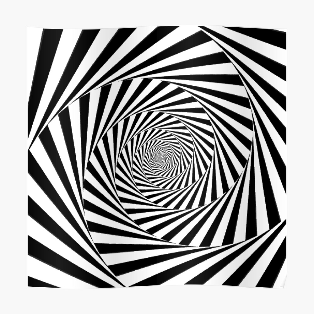 🍄 Optical Illusion, poster