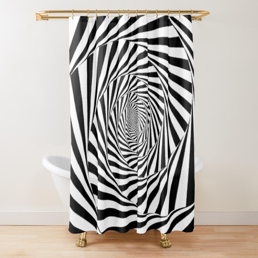 🍄 Optical Illusion, ur,shower_curtain_closed,square