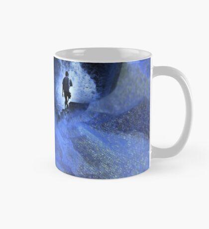 Blue cave Mug