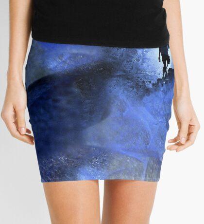 Blue cave Mini Skirt