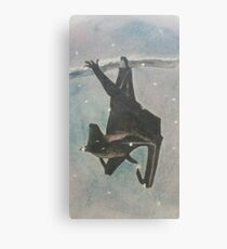 Batty Christmas Canvas Print
