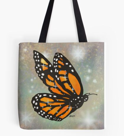 Glowing Butterfly - Pillows & Totes Tote Bag