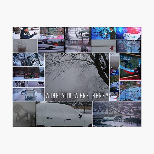 Wish You Were Here? Photographic Print