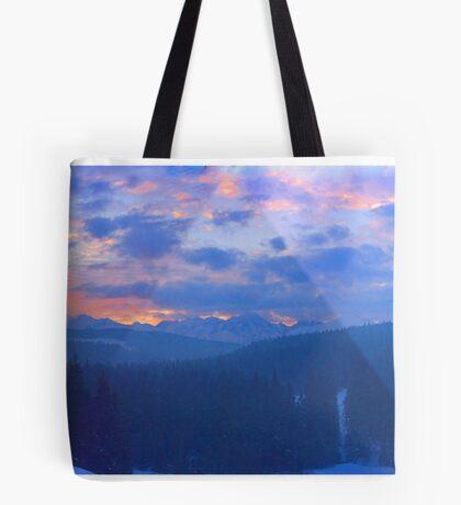 Tatra Mountins . Doctor Fautus. Tote Bag