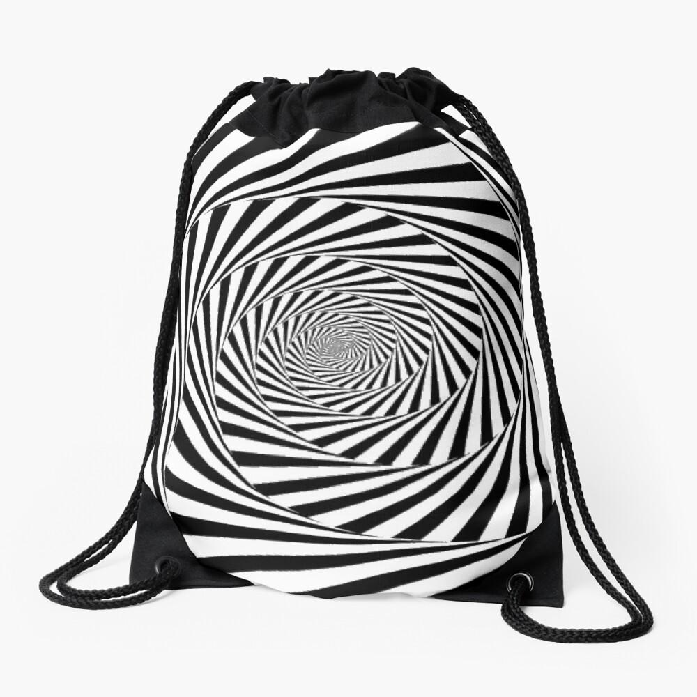 🍄 Optical Illusion, drawstring_bag,x1000-pad