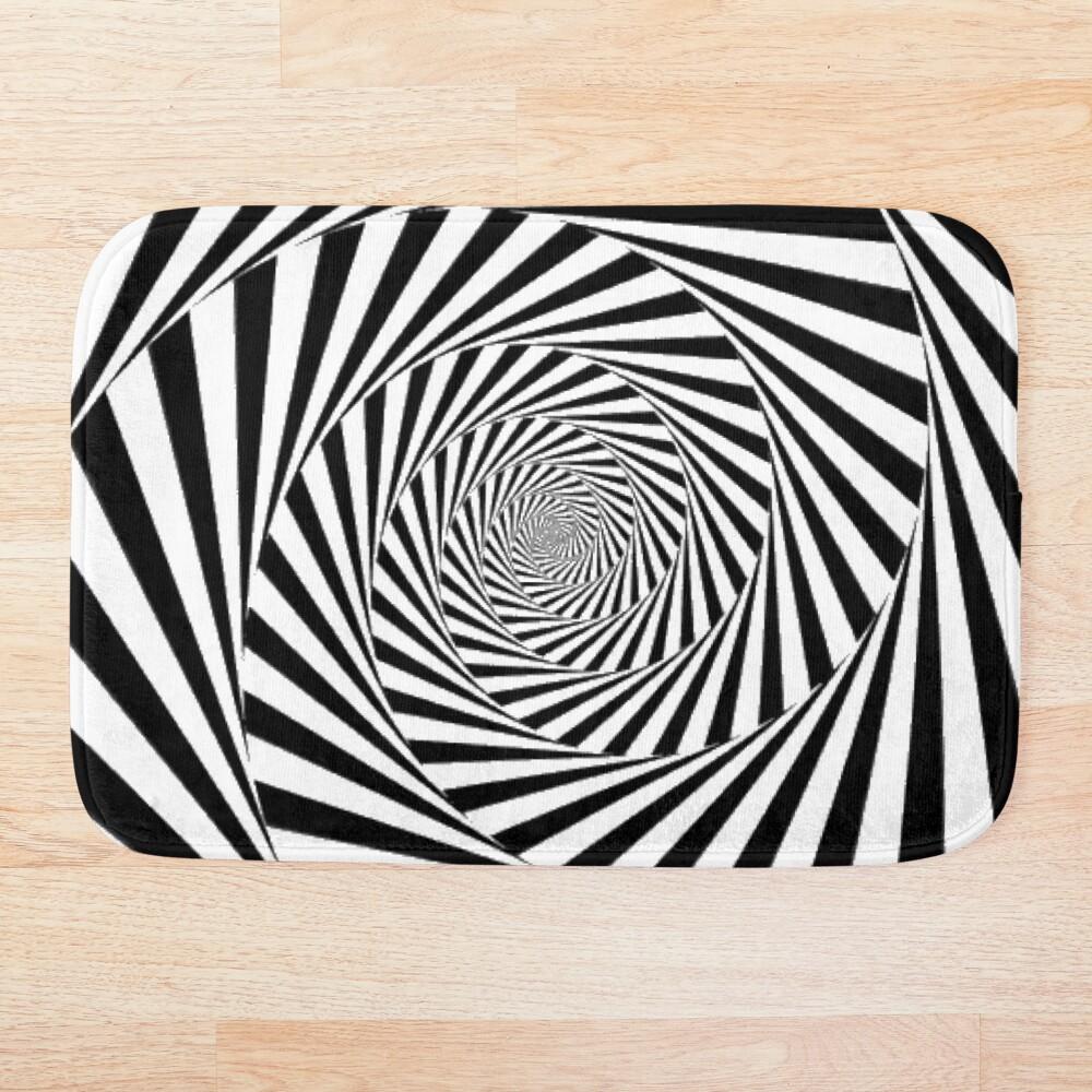 🍄 Optical Illusion, ur,bathmat_flatlay_small,square