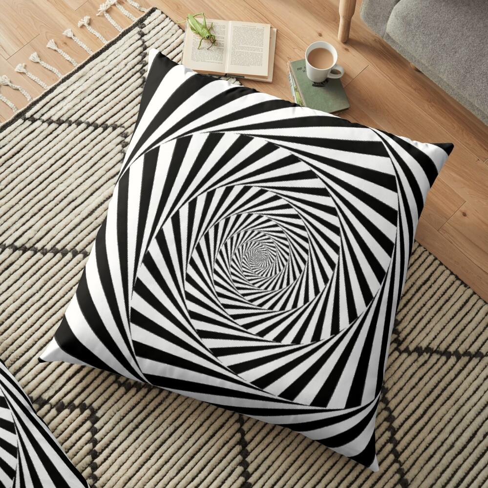🍄 Optical Illusion, throwpillow,36x36,1000x-bg,f8f8f8-c