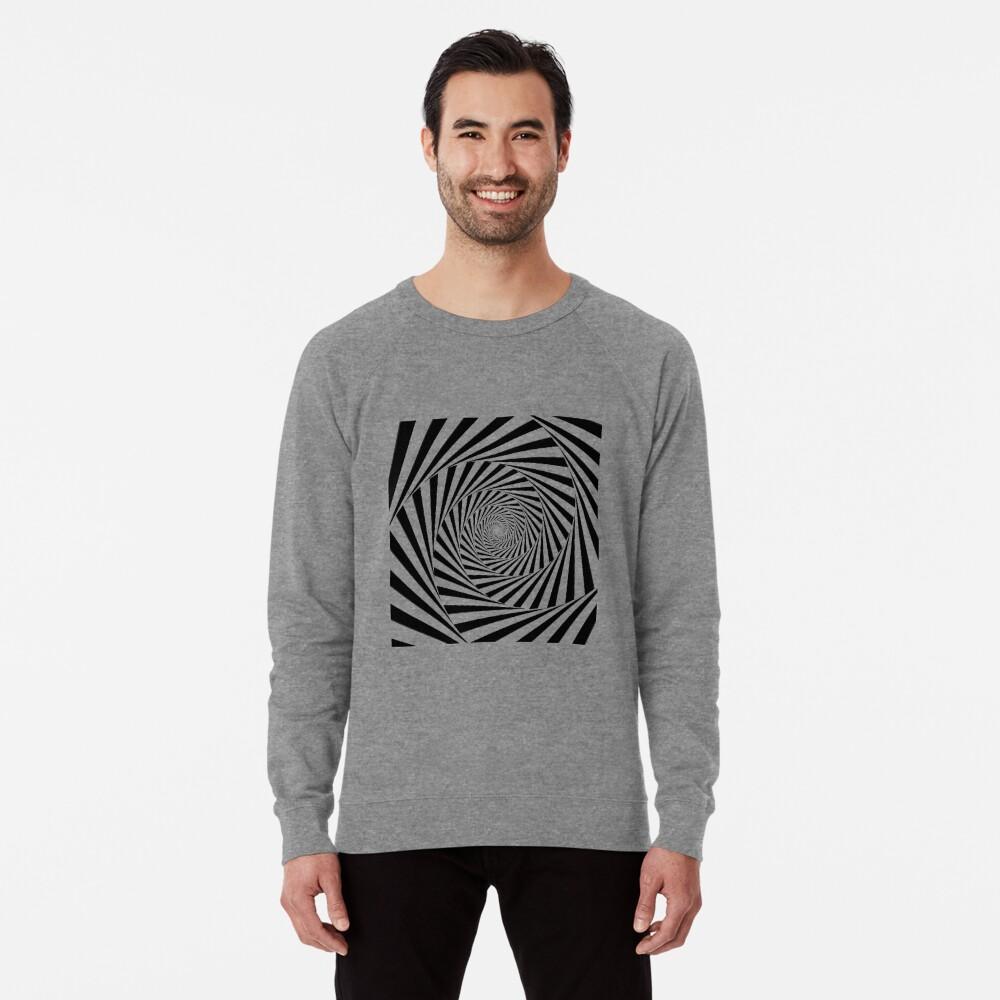 🍄 Optical Illusion, ssrco,lightweight_sweatshirt,mens,heather_grey_lightweight_raglan_sweatshirt