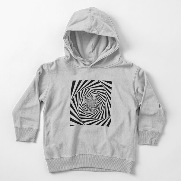 #Optical #Illusion #OpticalIllusion #VisualArt Black and White znamenski.redbubble.com Toddler Pullover Hoodie