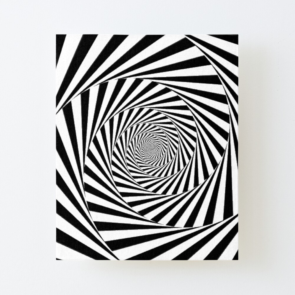 🍄 Optical Illusion, ur,mounted_print_canvas_portrait_small_front,square