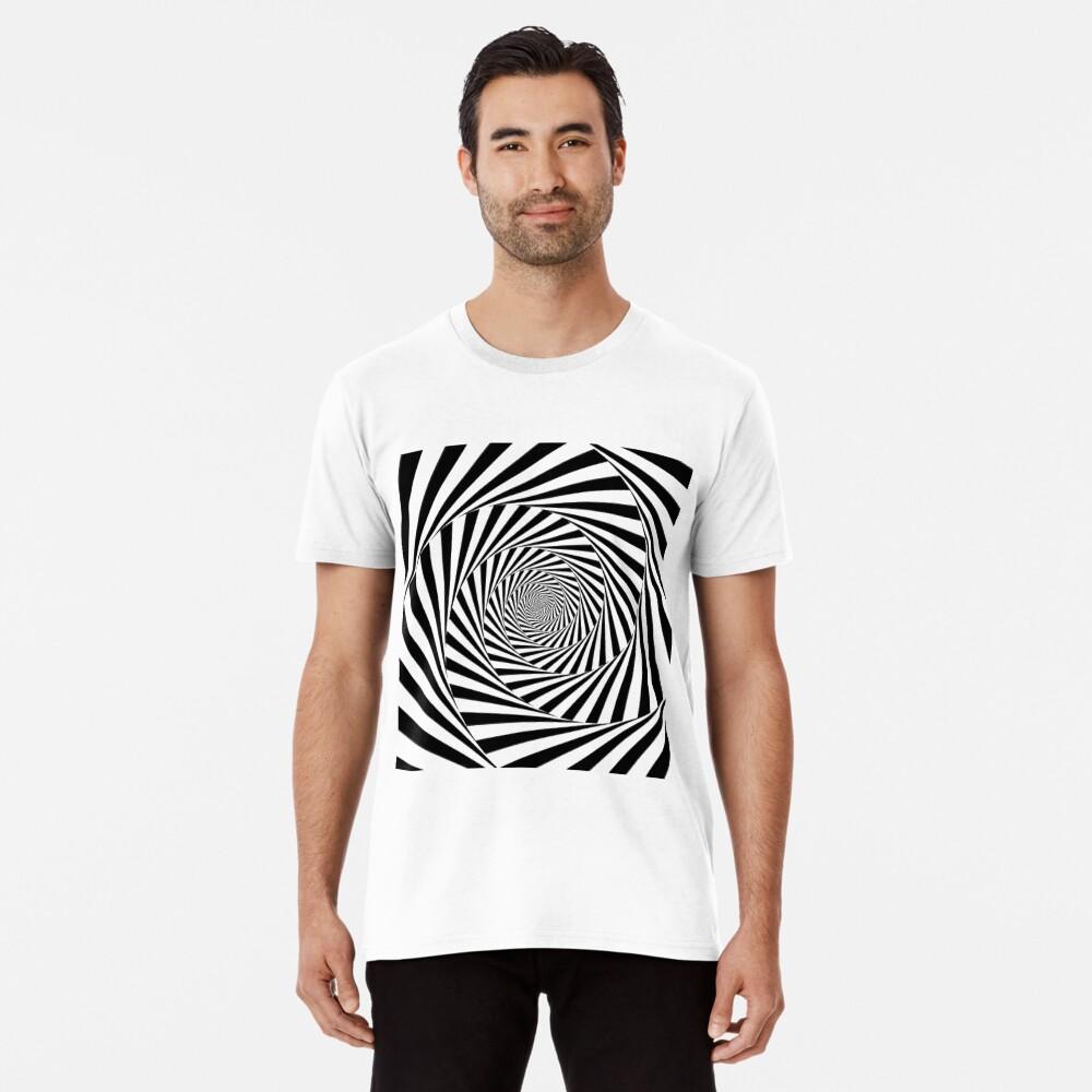 🍄 Optical Illusion, ssrco,mens_premium_t_shirt,mens