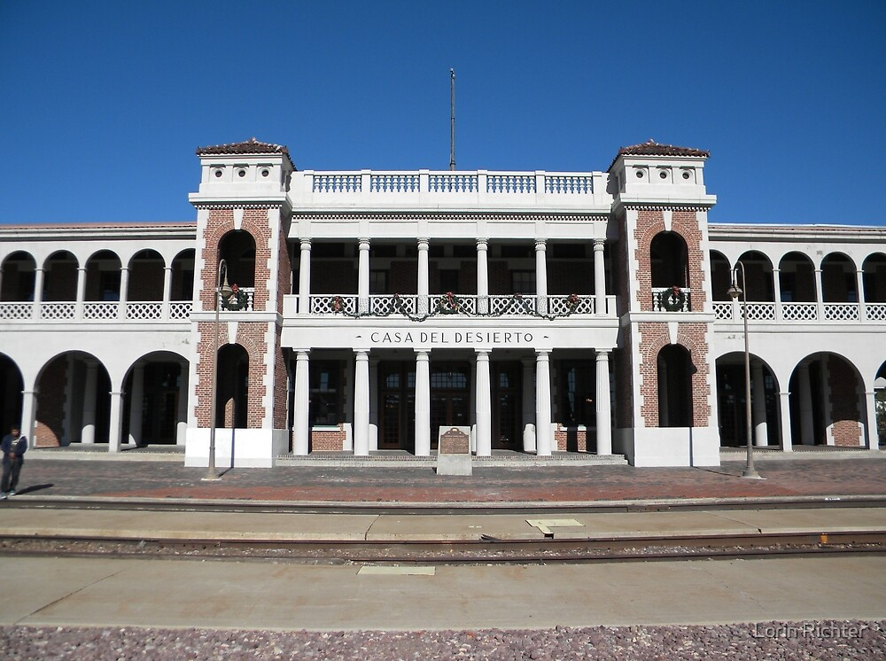historic harvey house, Barstow,ca. by Lorin Richter