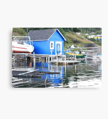 Blue in The Water Canvas Print
