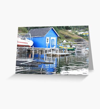 Blue in The Water Greeting Card