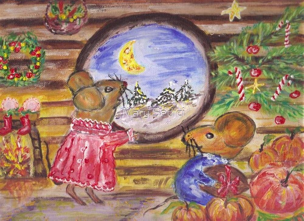 Christmastime in Miceland  by Mary Sedici