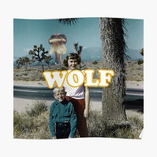 Tyler, The Creator WOLF Poster