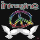 PEACE / IMAGINE by roadie