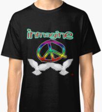 PEACE / IMAGINE Classic T-Shirt