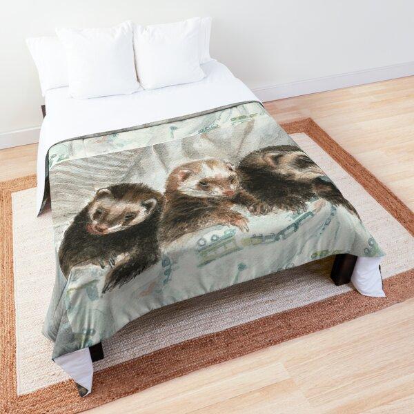 Lovely ferrets Colcha