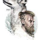 «Viking and The Wolf» de MENGANITAdecual