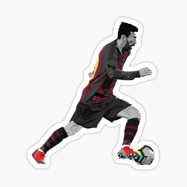 Messi dribble Sticker