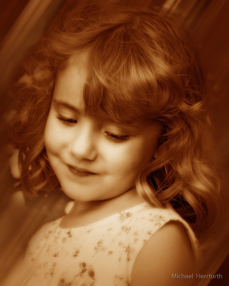 Child Portrait by Michael  Herrfurth