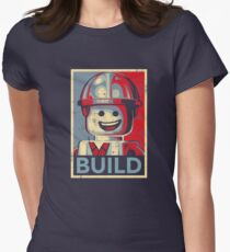 BUILD Women's Fitted T-Shirt