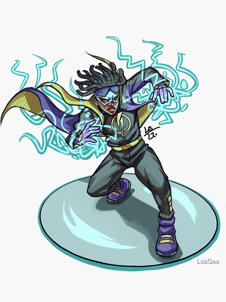 Static Shock by LosGee