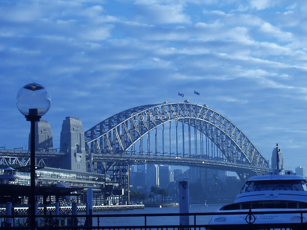My Blue Sydeny Harbour Bridge by Coffee13