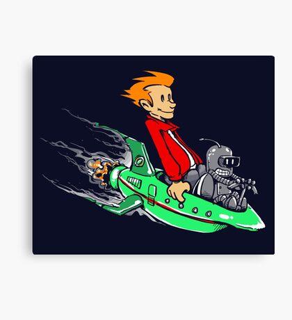 Bender & Fry Canvas Print