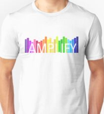 Amplify (white text) Slim Fit T-Shirt