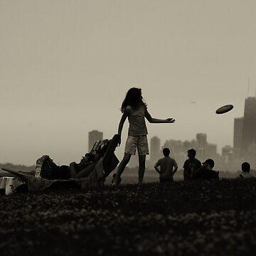 Frisbee by maxym