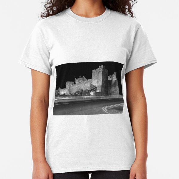 Cahir Castle at Night Classic T-Shirt