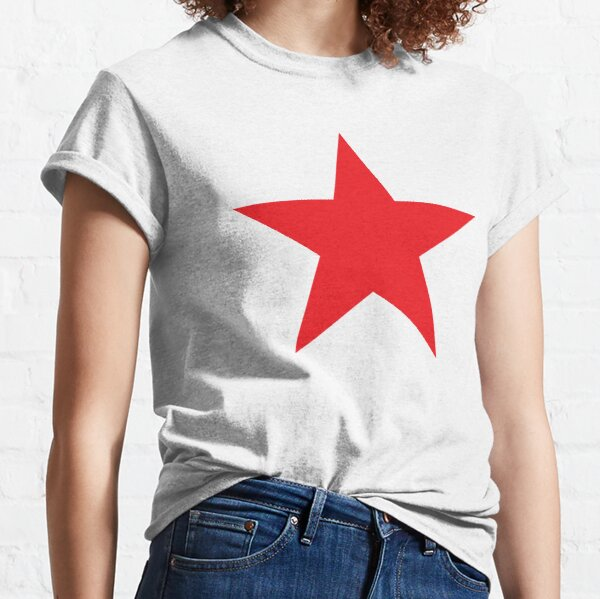 Red Star, STAR, RED, Stardom, Power to the people! Red Dwarf, Stellar, Cosmic. Classic T-Shirt