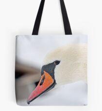 Inquisitive Swan   3938 Tote Bag