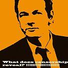 Julian Assange Saga  by Hany  Kamel