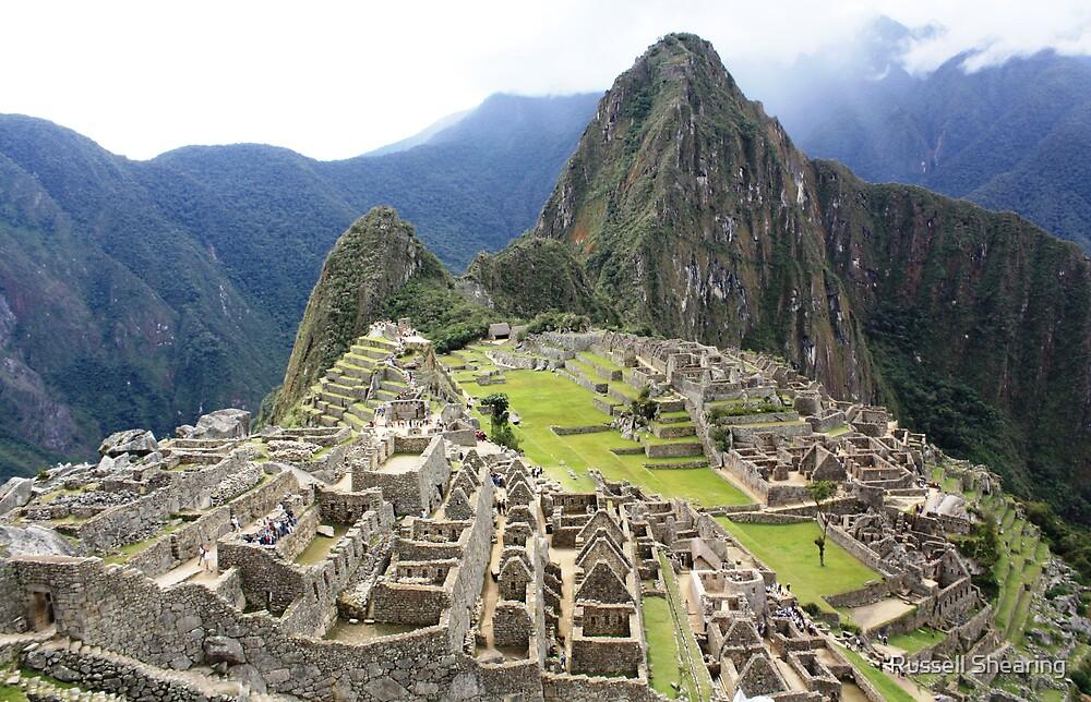 Machu Picchu by Russell Shearing