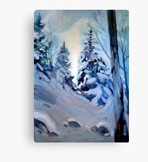 Snow Vision Canvas Print