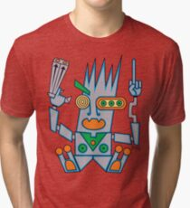 Robo Hobo Tri-blend T-Shirt