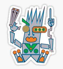 Robo Hobo Sticker
