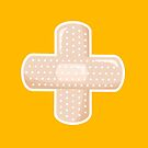 First Aid Plaster - Yellow by XOOXOO