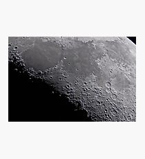 Seas of Serenity, Tranquility, Fertility, and Nectar - Landolt Observatory Photographic Print