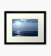 a Blue Horizon Framed Print