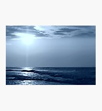 a Blue Horizon Photographic Print