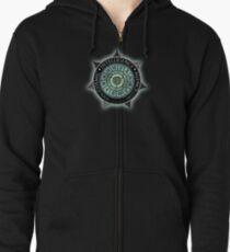 Cosmic Intelligence Agency Zipped Hoodie